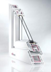 5-камерная профильная система REHAU Brillant-Design