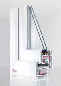 5-камерная профильная система REHAU Euro-Design 70