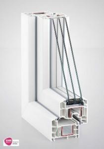 6-камерная профильная система REHAU Euro-Design 86 plus